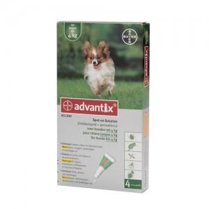advantix-hond-4-pipetten